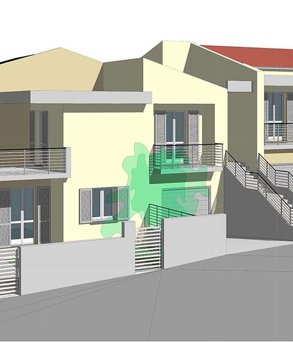 Appartamenti in quadrifamiliare – Osimo